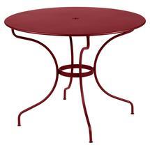 Opera+ 96cm Round Table - Chilli