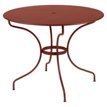 Opera+ 96cm Round Table - Red Ochre
