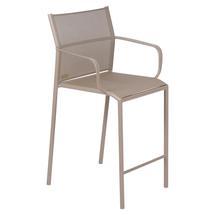Cadiz Bar Chair with Arms - Nutmeg