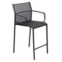 Cadiz Bar Chair with Arms - Stereo Anthracite