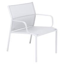 Cadiz Low Armchair - Cotton White