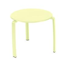 Alize Side Table - Frosted Lemon