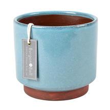 Speckled Glaze Indoor Planter - Large Blue