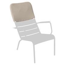 Luxembourg Low Armchair Headrest - Nutmeg