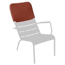 Luxembourg Low Armchair Headrest - Stereo Red Ochre