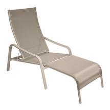 Alize Deckchair/Footrest - Nutmeg