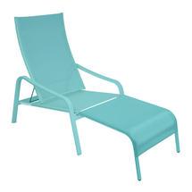 Alize Deckchair/Footrest - Lagoon Blue