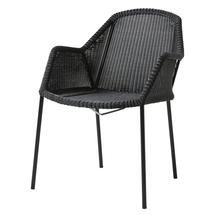 Breeze Stackable Dining Armchair - Black