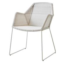 Breeze Dining Armchair - White Grey