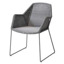 Breeze Dining Armchair - Light Grey
