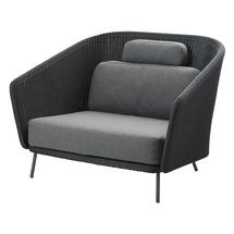Mega Lounge Chair with Grey Cushions