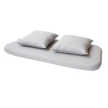 Moments Outdoor Dining Bench Cushions - Light Grey