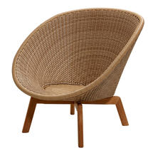 Peacock Lounge Chair - Natural