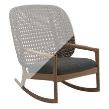 Protective Cover for Kay High Back Rocking Chair