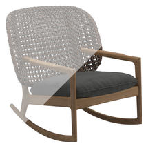 Protective Cover for Kay Low Back Rocking Chair
