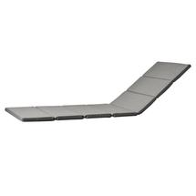 Relax Sunlounger Cushion - Grey