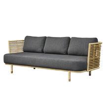 Sense Indoor 3 Seater Sofa Frame - Natural