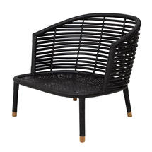 Sense Indoor lounge chair - Black