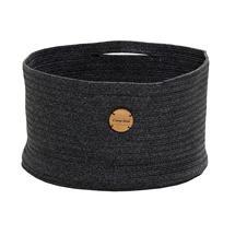 Soft Rope Basket Medium - Dark Grey