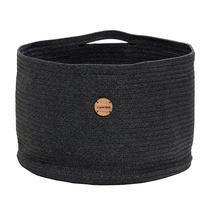 Soft Rope Basket Large - Dark Grey