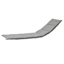 Escape Sunbed Cushion - Light Grey