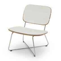 Lilium Lounge Chair Cushion - White