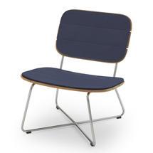 Lilium Lounge Chair Cushion - Marine