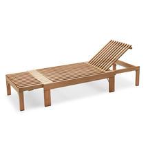 Riviera Low Table- Teak/Stainless Steel
