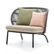 Kodo Lounge Chair Frame - Fossil Grey