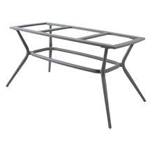 Joy Dining Table Base Oval - Light Grey