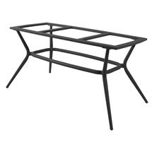 Joy Dining Table Base Oval - Lava Grey