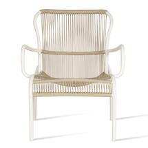 Loop Rope Lounge Chair - Beige/Stone White