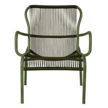 Loop Rope Lounge Chair - Moss