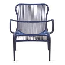 Loop Rope Lounge Chair - Indigo