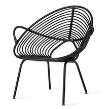 Rocco Lazy Chair - Black