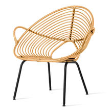 Rocco Lazy Chair - Camel