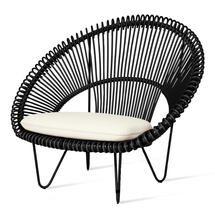 Roy Cocoon Chair - Black
