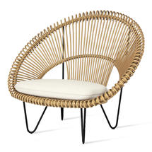 Roy Cocoon Chair - Camel