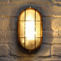 Solar Oval BulkHead Wall Light