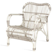 Lazy Lucy Armchair - Off White