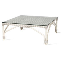 Lucy Modular Footrest / Coffee Table Frame - Off White