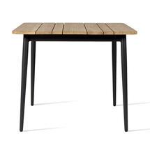 Max 90 x 90cm Square Table - Teak Top
