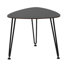 Rozy Side Table - Black HPL Top