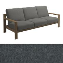 Loop 3-Seater Sofa Charcoal Strap - Fife Rainy Grey