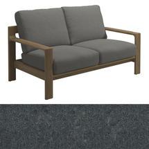 Loop 2-Seater Sofa Charcoal Strap - Fife Rainy Grey