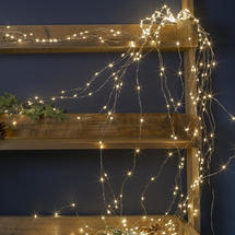 Cascading Micro 360 LED Bare Wire Lights Warm White