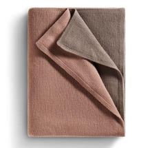 Atmosphere Cashmere Blanket - Mink / Drizzle