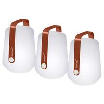 Set of 3 Balad Petite Lights - Red Ochre