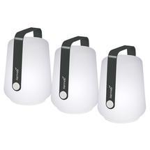 Set of 3 Balad Petite Lights - Anthracite