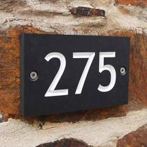 ECO House Numbers - 3 Digit No.